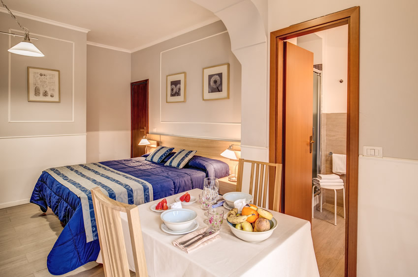 Hotel Residence Magnolia Rome Official Site Rooms